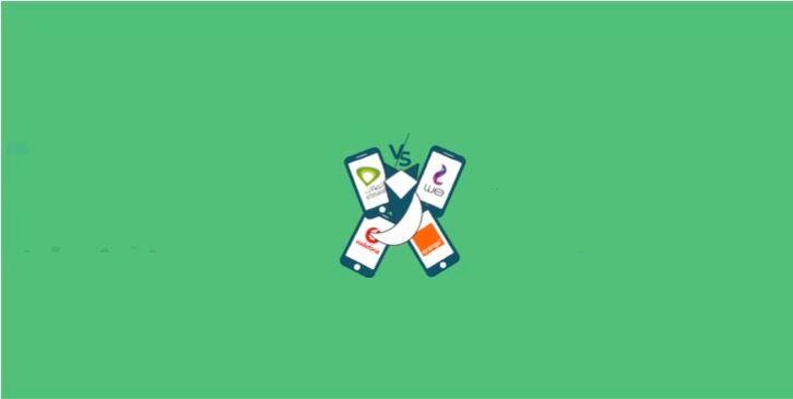 Vodafone, We, Etisalat, or Orange Mobile Packages?