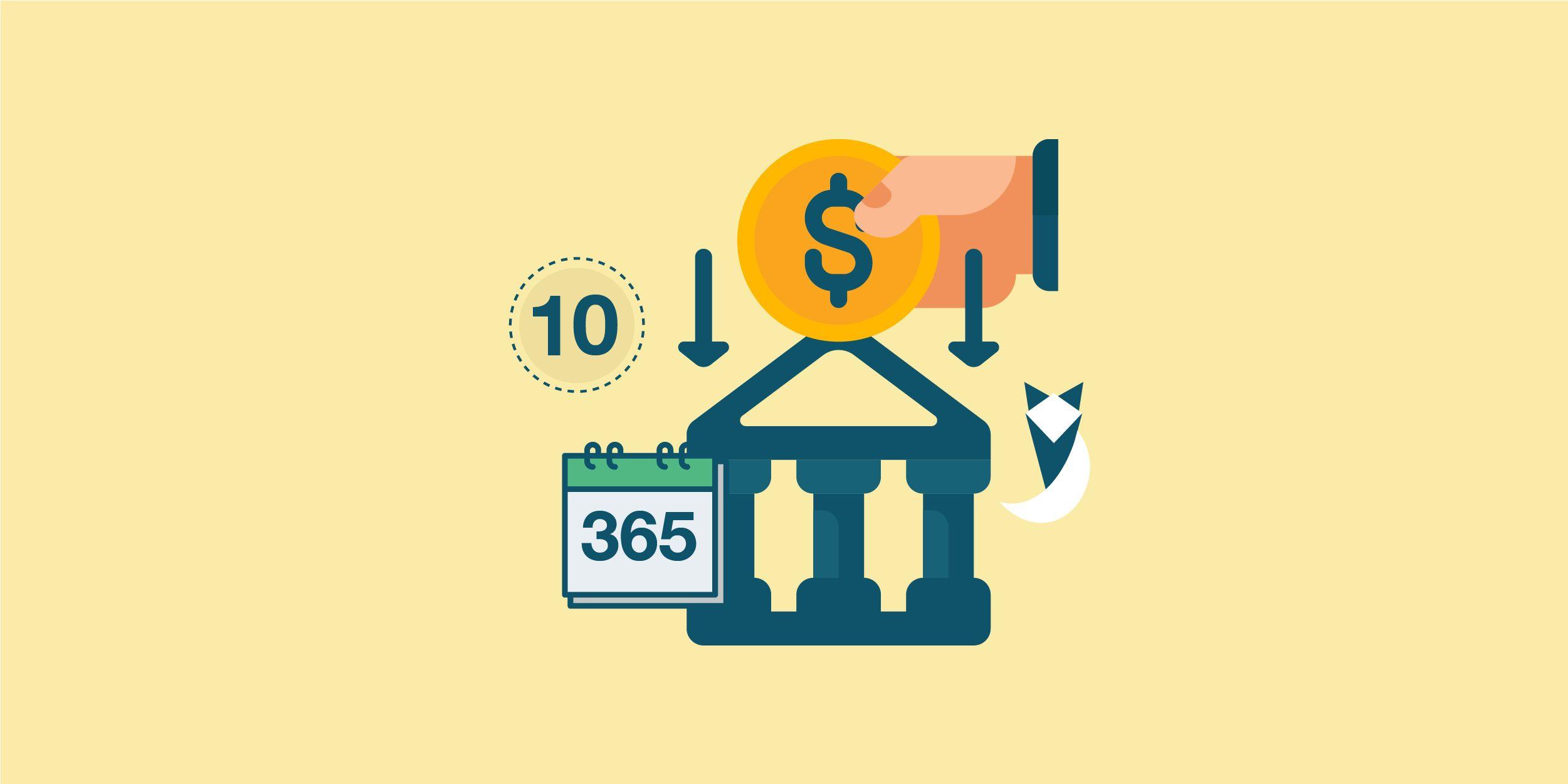 أعلى 9 ودايع سنوية في البنوك المصرية فى شهر سبتمبر 2021