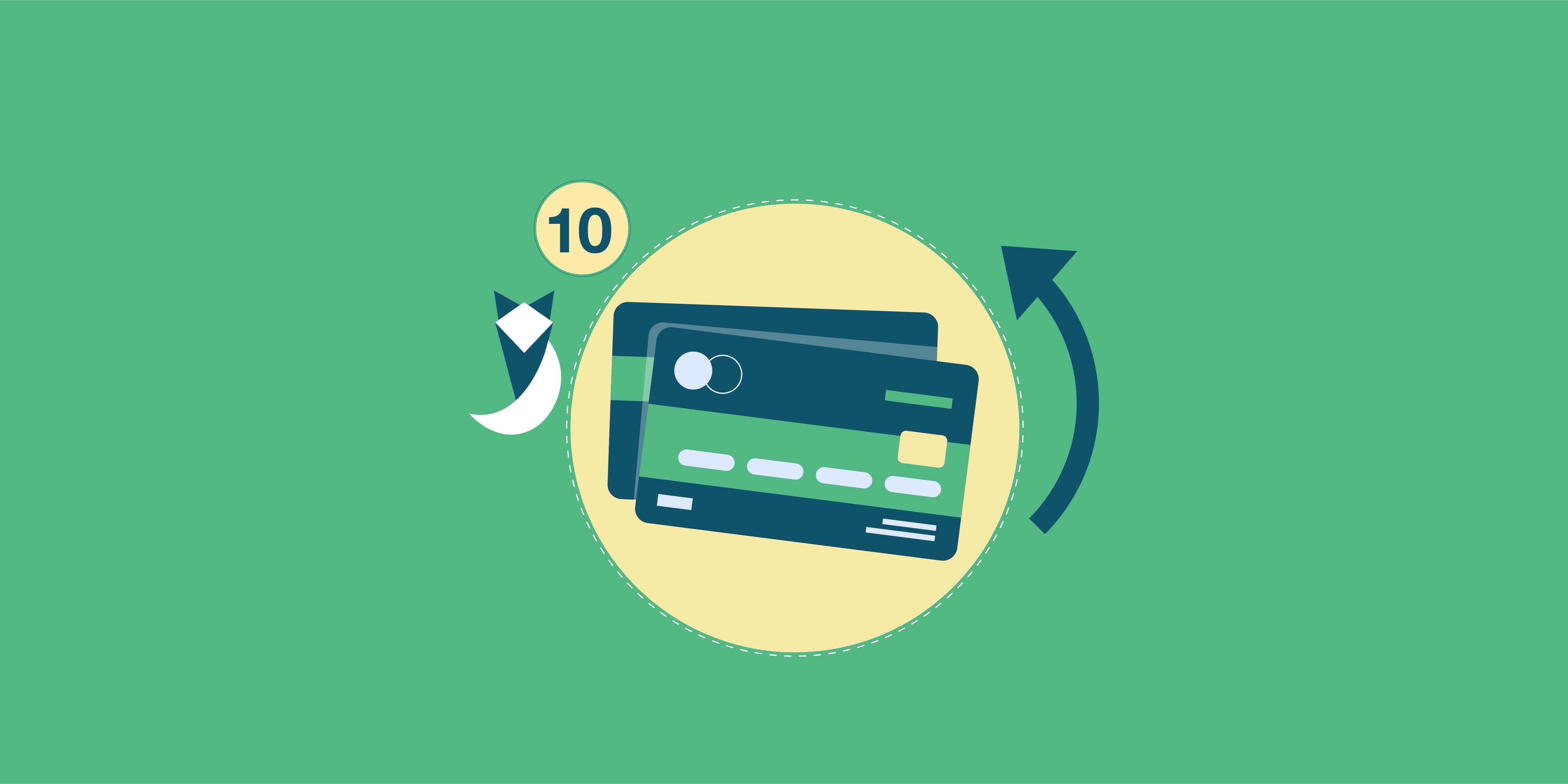 أعلى 10 بطاقات ائتمان بحد أدنى 50,000 جنيه في أكتوبر 2021
