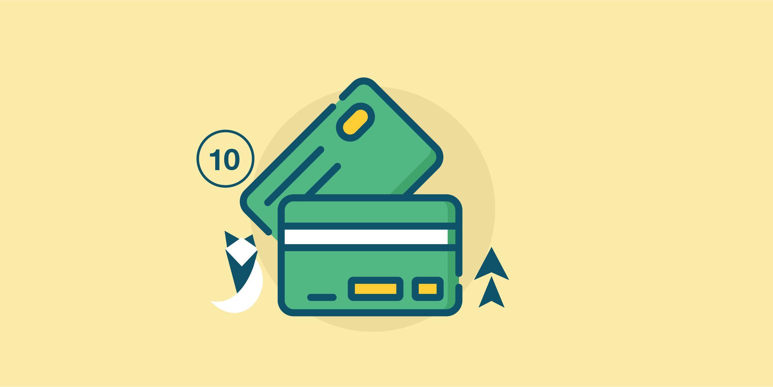 أعلى 10 بطاقات ائتمان بحد أدنى 50,000 جنيه في شهر أغسطس 2021