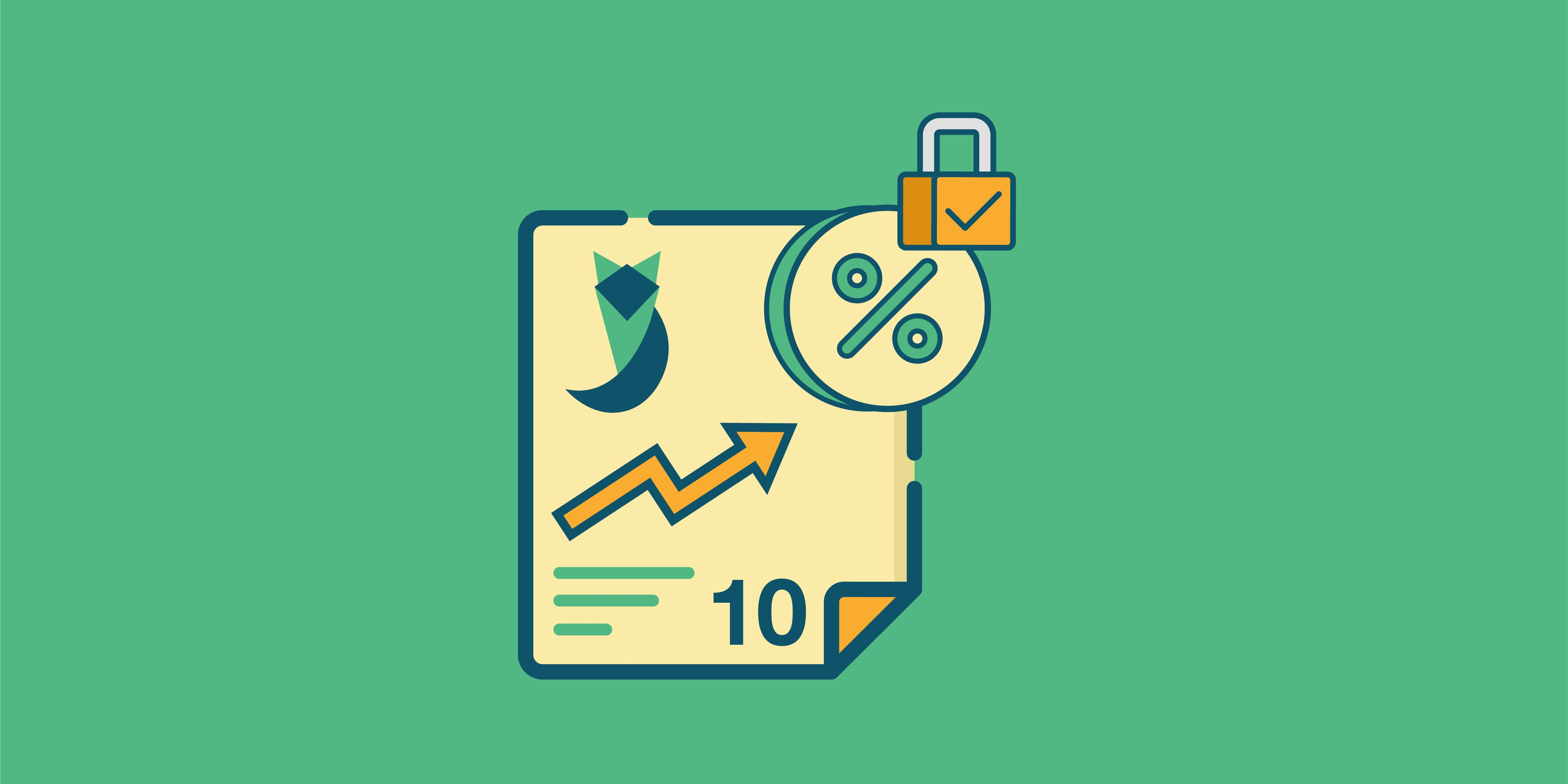 أعلى 10 شهادات استثمار بعائد ثابت لمدة 5 سنين في أكتوبر 2021