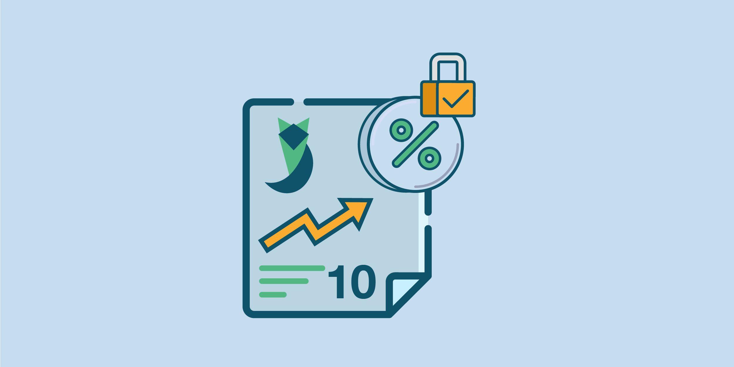 أعلى 10 شهادات استثمار بعائد ثابت لمدة 5 سنين في سبتمبر 2021