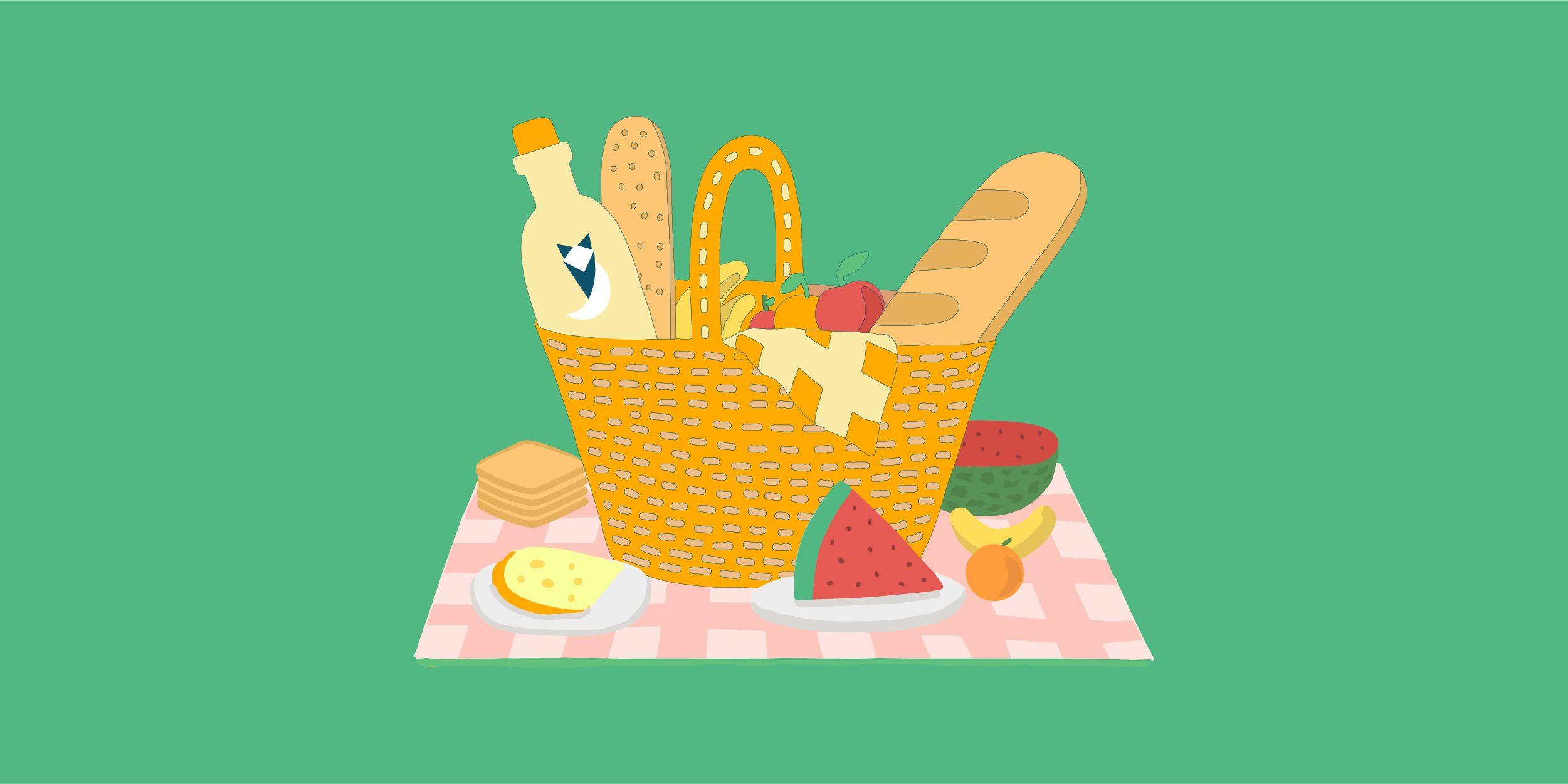 افكار موفرة للـ Picnic في إفطار رمضان 2021