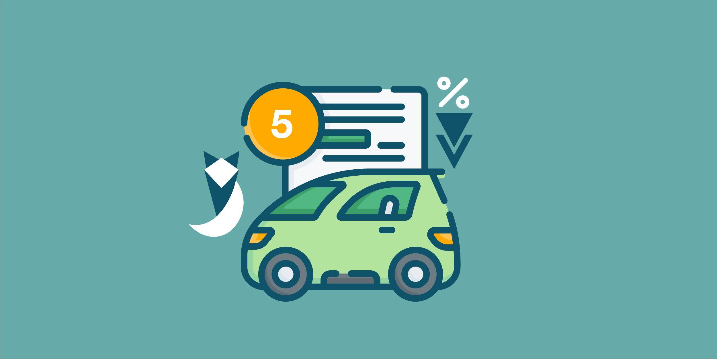 'أفضل 5 قروض سيارات جديدة في البنوك في سبتمبر 2021