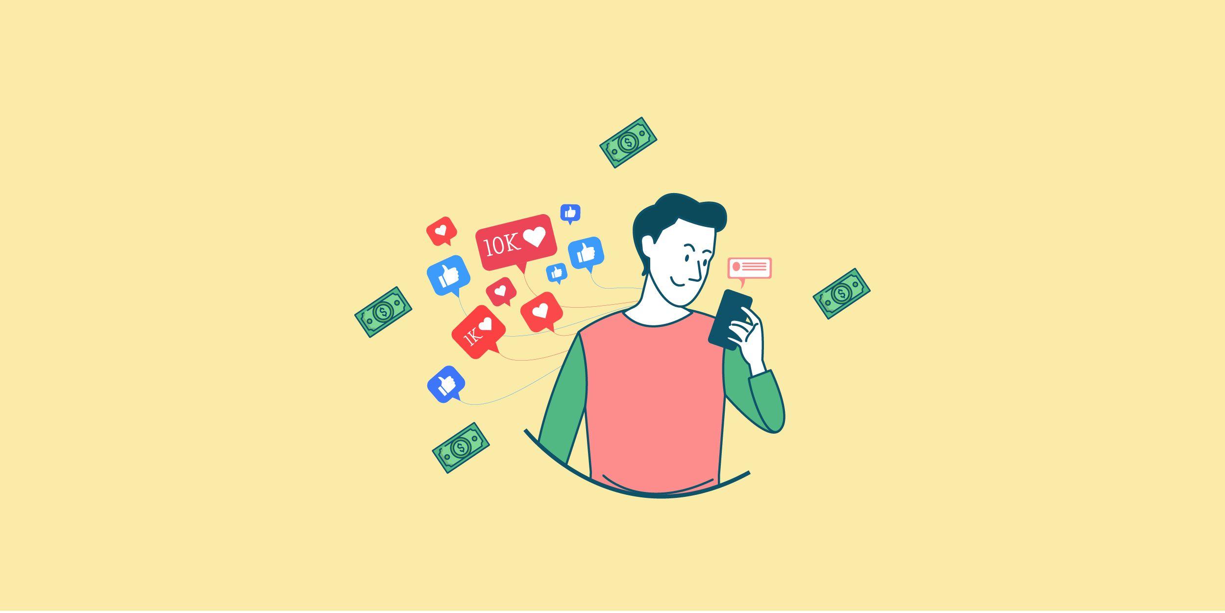 ازاي تكسب فلوس عن طريق مواقع الـ Social Media المختلفة؟