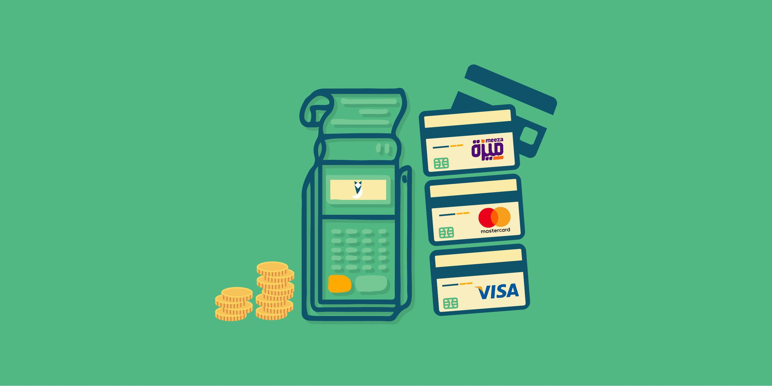 What's the difference between Visa, Master Card, and Meeza?