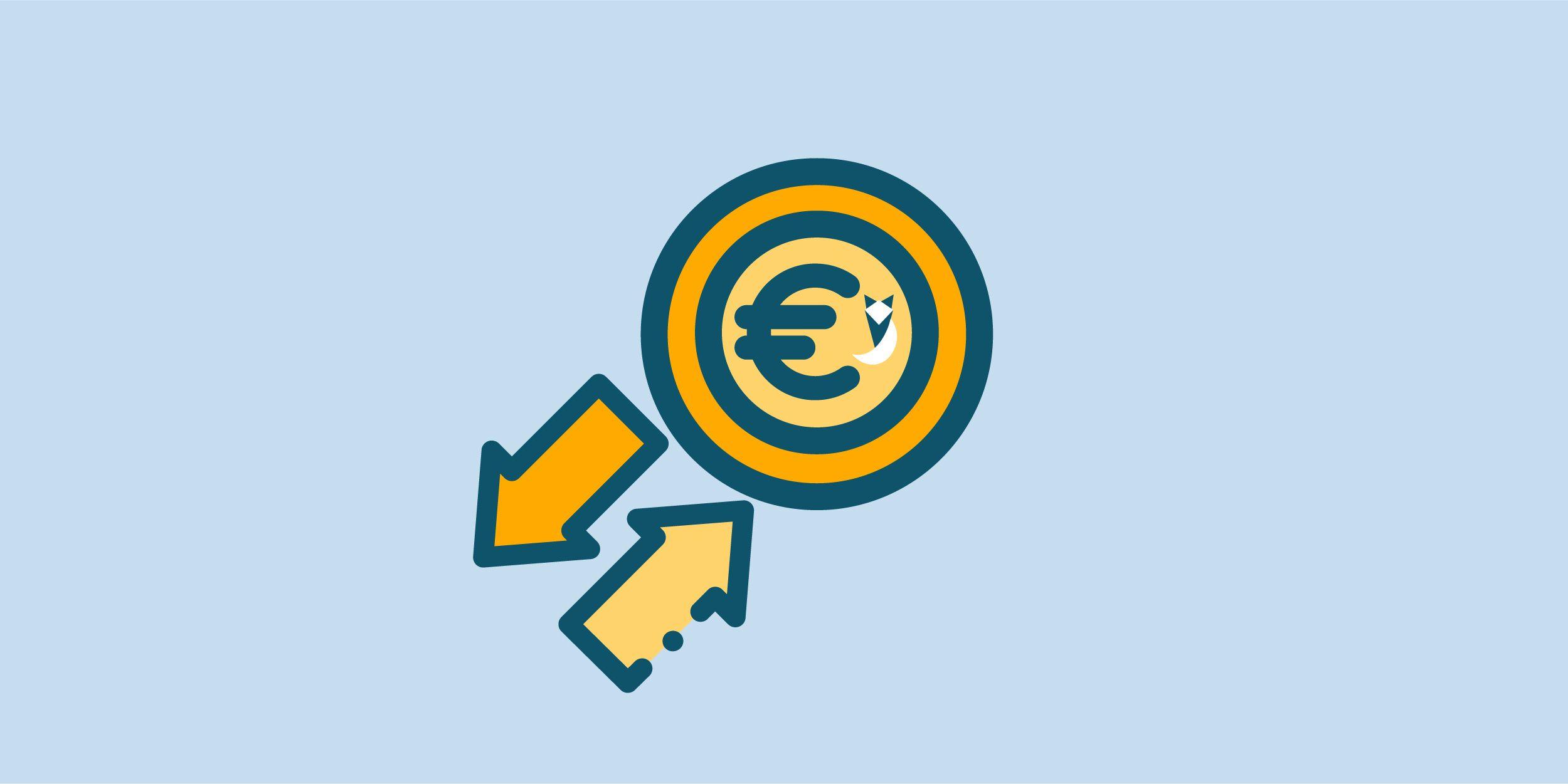 انخفاض في اسعار اليورو في البنوك اليوم 12 اكتوبر 2021