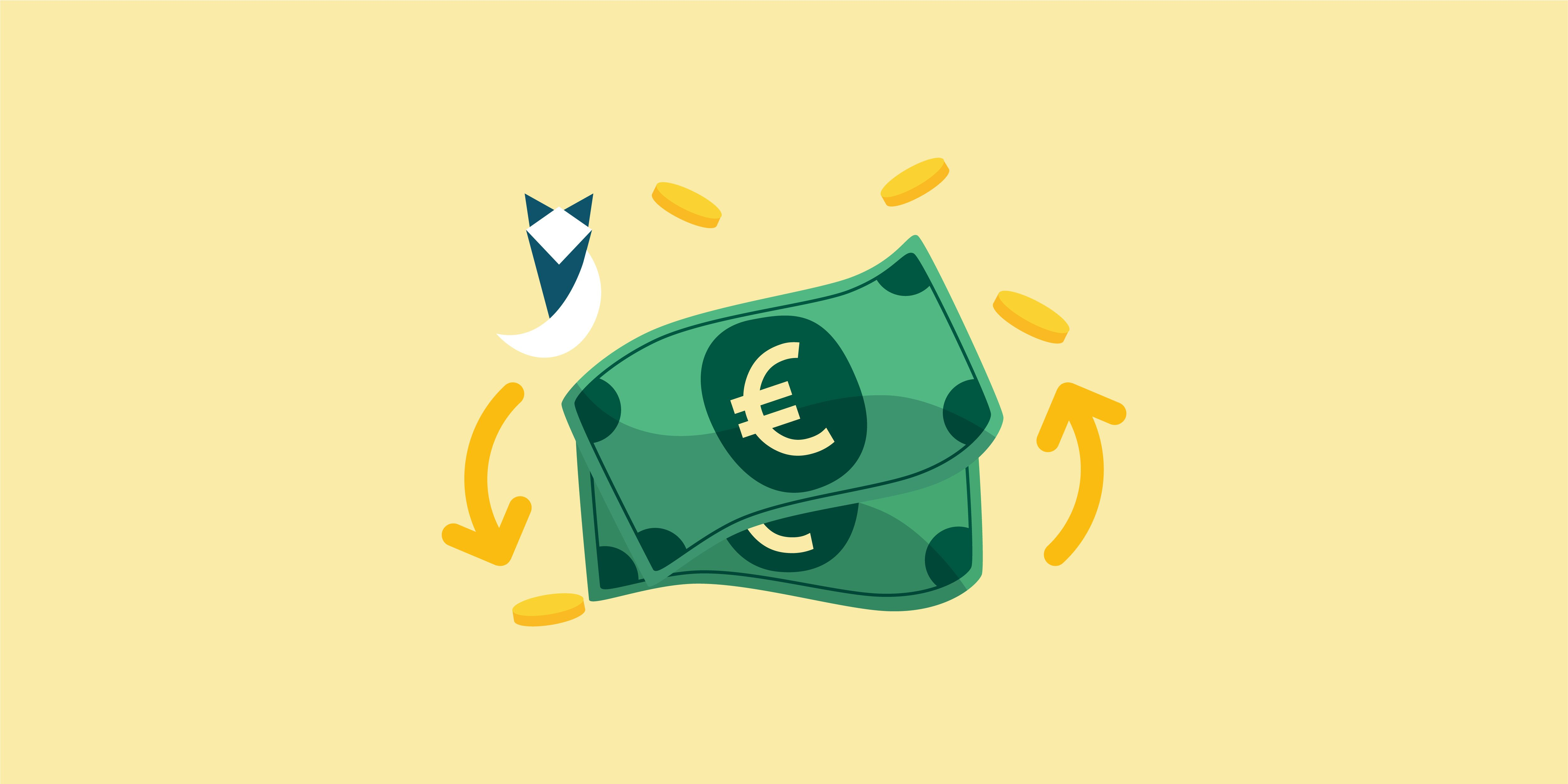A continuous decline in Euro prices today October 5, 2021